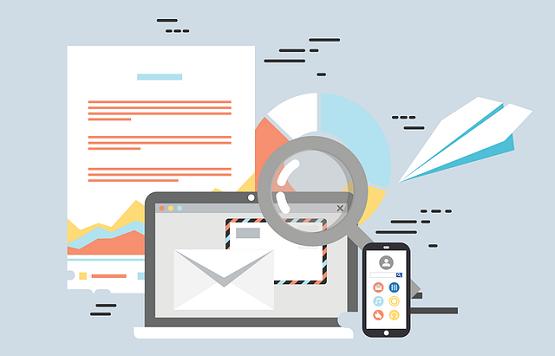 gerenciamento de conteudo emails